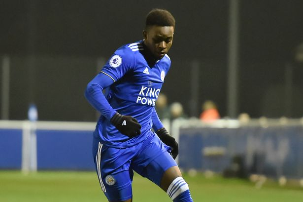 MUSKWE IN LEICESTER FIRST TEAM ACTION