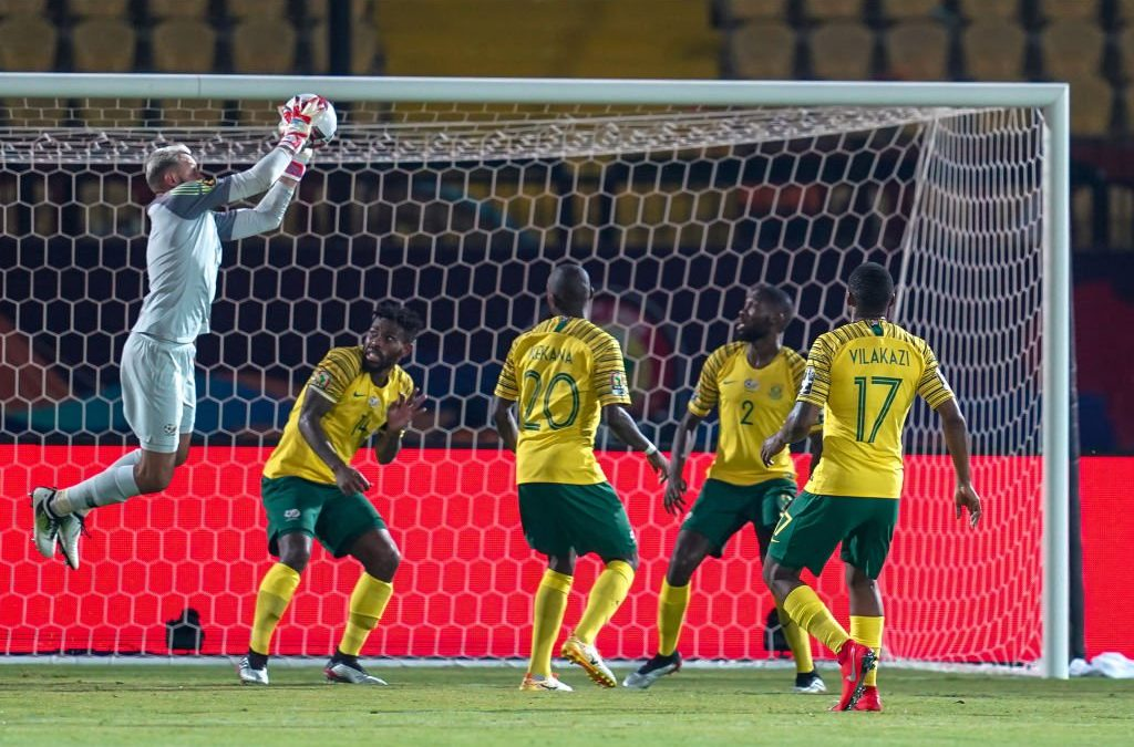 BAFANA BAFANA TO FACE EGYPT IN ROUND OF 16